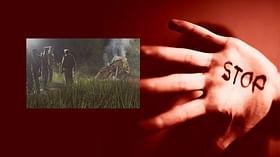 `இளம்பெண் உடலை அதிகாலை 2.30 மணிக்குத் தகனம் செய்த போலீஸார்?'- உ.பி வன்கொடுமை வழக்கு சர்ச்சை