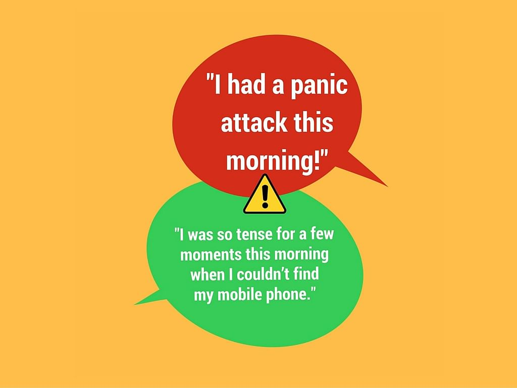 What a panic attack is A  panic attack is a sudden, overwhelming sense of anxiety and fear. They may feel helpless as they experience palpitations, breathlessness, sweating, giddiness, nausea. They may also feel a choking sensation, chest pains and a sense of being paralysed with fear. They may last anywhere between 10 and 30 minutes; some may last up to an hour. A person who has panic attacks may begin avoiding situations in which they are triggered. Panic attacks are thought to be associated with major life transitions or severe stress.