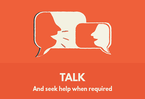 Talk - And seek help when required The diagnosis doesn't mean it's the end of social interactions and family meetings. It's not something to be afraid of or feel stigmatized about. It's alright to talk about it to those you trust, seek help from neighbors or extended family and friends. A tight-knit, reliable support system will allow you to share tasks.