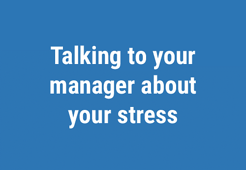 Stress at the workplace