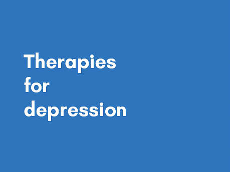 What are the different therapeutic interventions for depression?