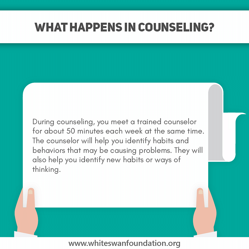 What happens in counseling?