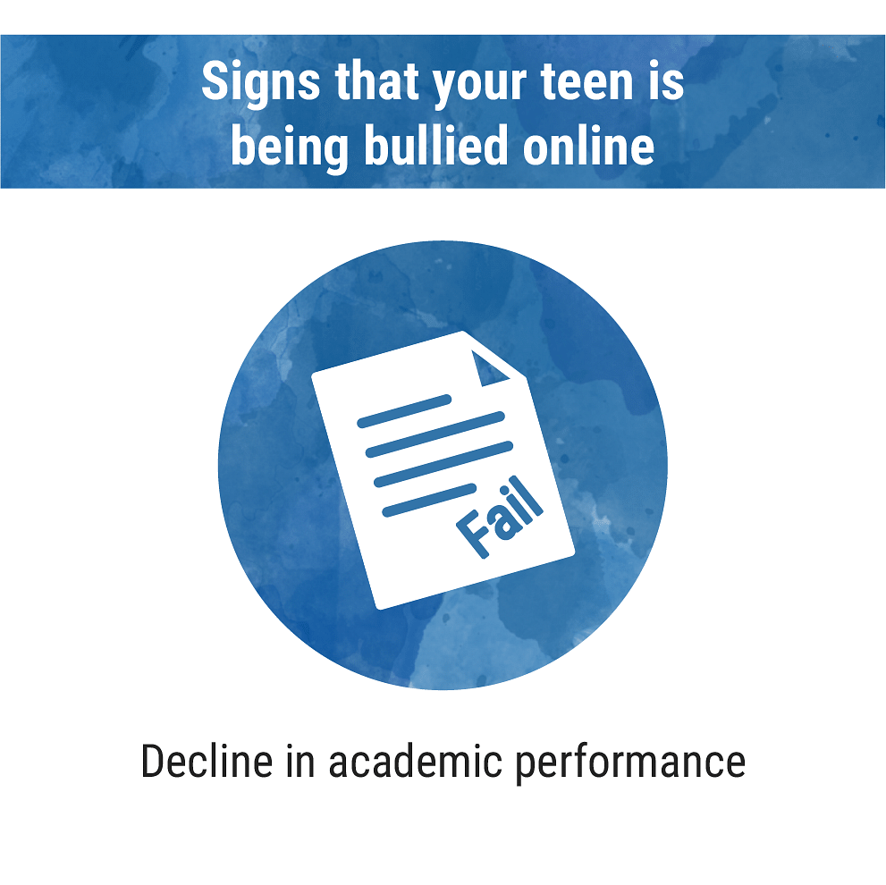 Signs that your teen is being bullied online
