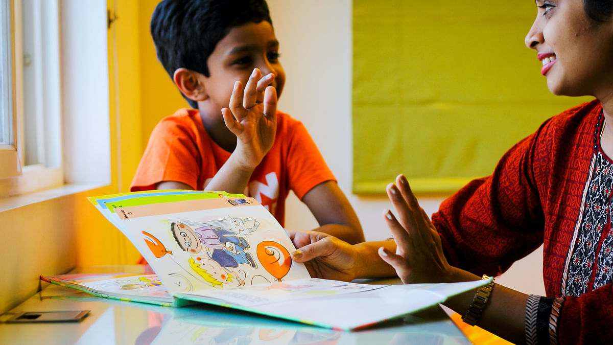 Parents and teachers should collaborate to help a child with a learning difficulty