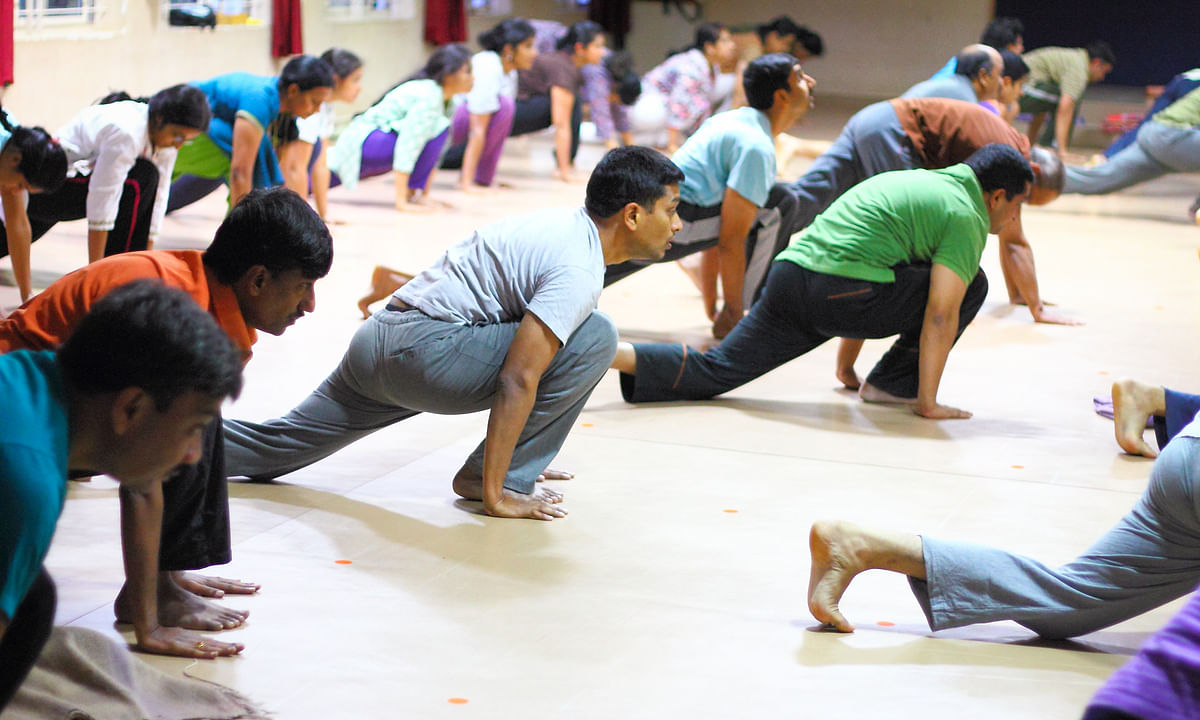 Should caregivers include yoga into their daily activities?