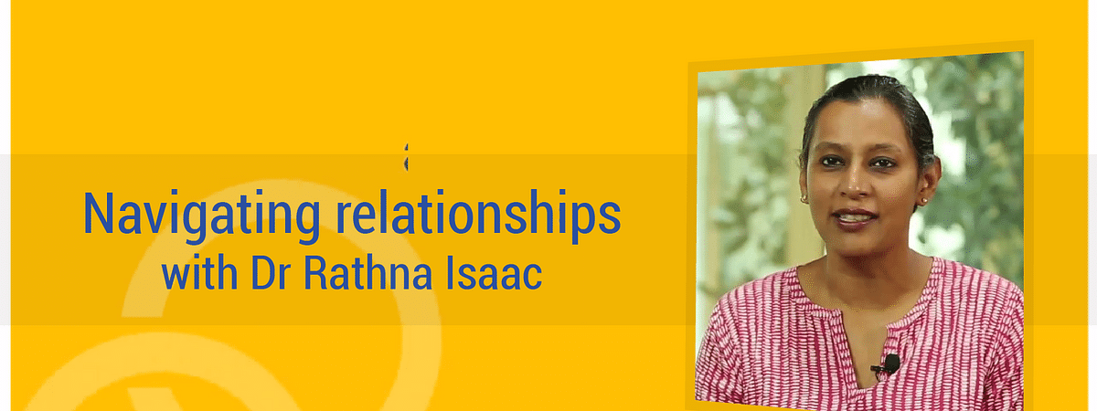 Relationship conflicts | Navigating relationships with Dr Rathna Isaac