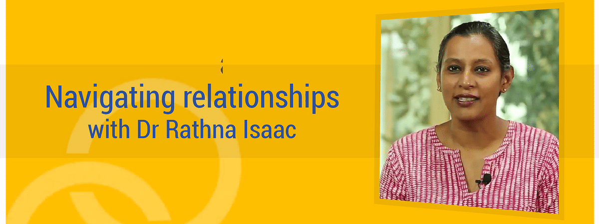 Bringing up an emotionally healthy child | Navigating relationships with Dr Rathna Isaac