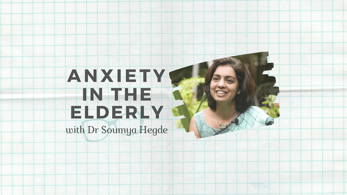 Treating anxiety in the elderly