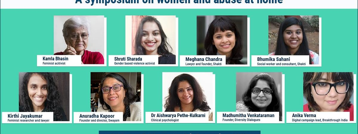 Symposium on women and abuse at home - LIVE
