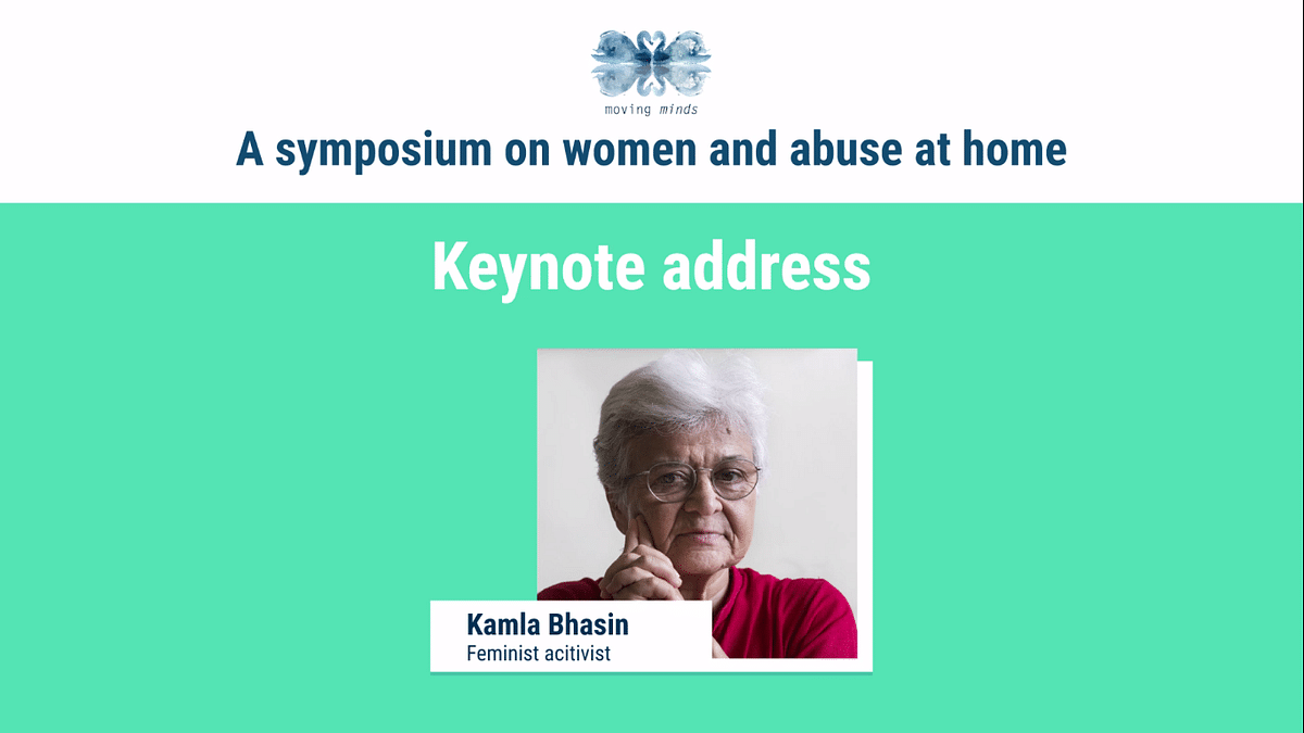 Keynote address by Kamla Bhasin