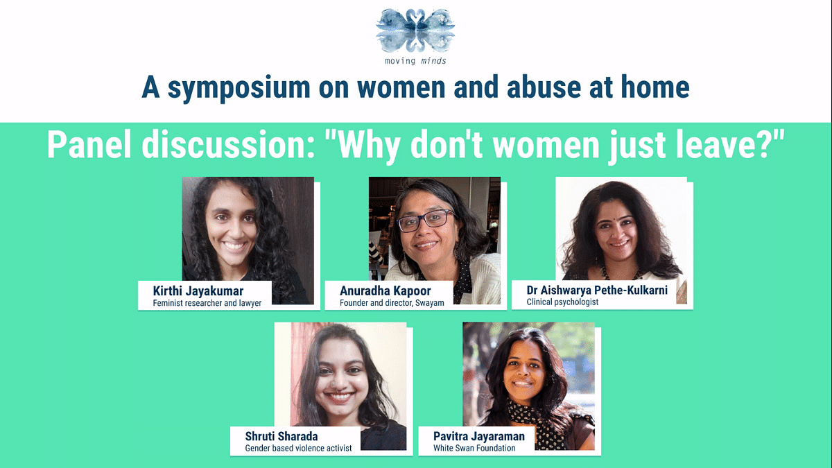 Panel discussion: Why don't women just leave?