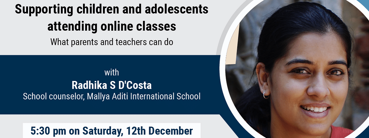 Facebook Live: Supporting children and adolescents attending online classes