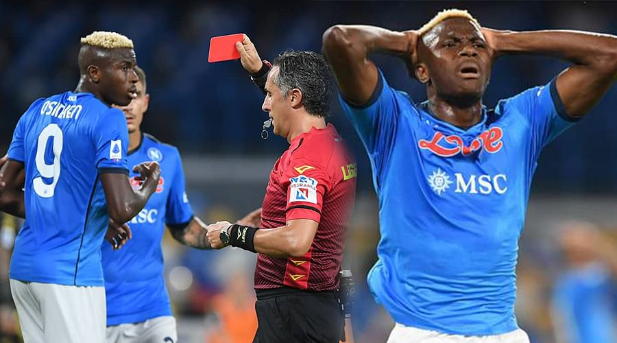 Osimhen handed €5,000 fine, to miss Juve clash