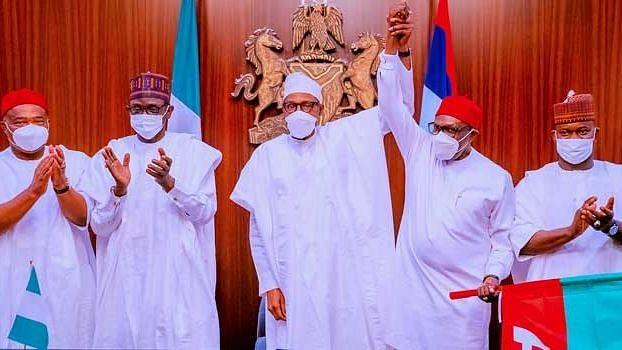 Buhari endorses Andy Uba as APC governorship candidate in Anambra