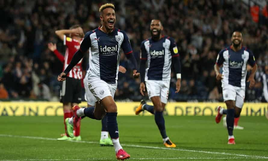 West Brom overwhelm Sheffield United to top Championship