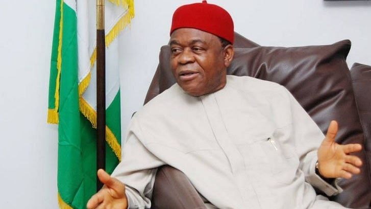 JUST IN: EFCC storms Abuja Airport, whisks away ex-Abia Gov Orji over N48b security votes