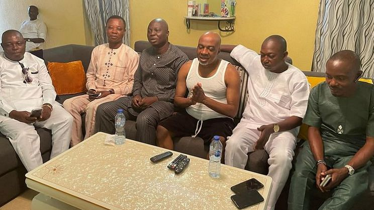 Nollywood actor Olaiya Igwe recuperating fast, TAMPAN gives update on ailing actor