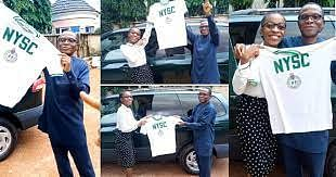 Ebonyi varsity lecturer gifts daughter 37-year-old NYSC shirt