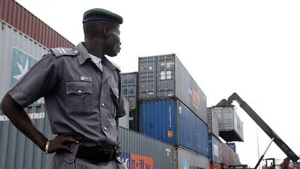 Customs recovers pistol, ammunition concealed in imported vehicle at Lagos port