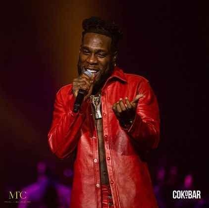 Photos from Burna Boy's concert at O2 Arena with Rema, Omah Lay