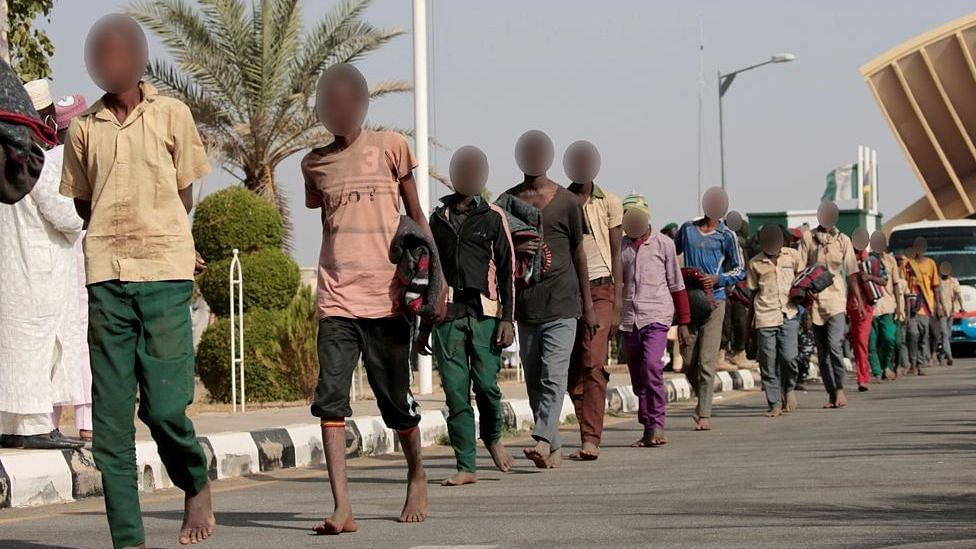Freed Niger pupils narrate ordeal in abductor's den