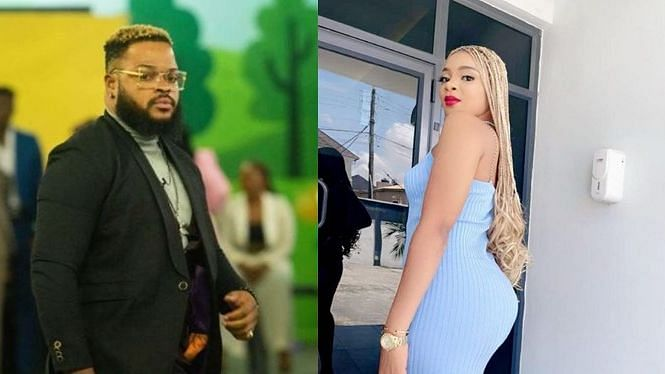 VIDEO: WhiteMoney, Queen share passionate kiss after Saturday night party