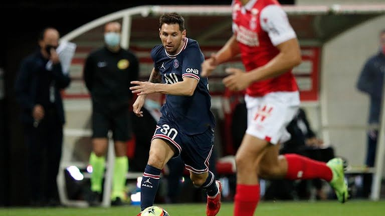 Lionel Messi makes PSG debut in victory over Reims