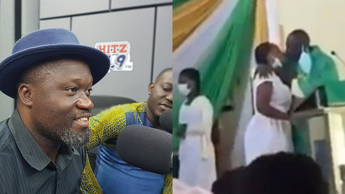 Anglican priest's 'Holy kiss' biblical, says Media personality, Ola Micheal