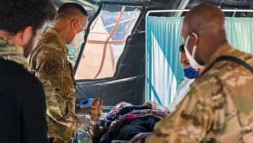 Afghan baby born during evacuation named after U.S. aircraft