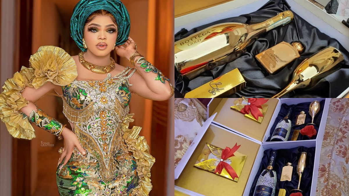 PHOTOS: I'm the biggest girl in Nigeria, Bobrisky brags as he shares 30th birthday budget