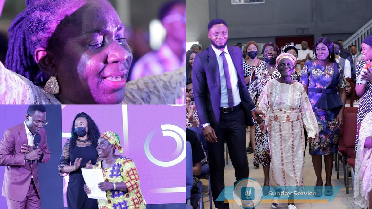PHOTOS: Abuja church blesses five widows with five plots of land