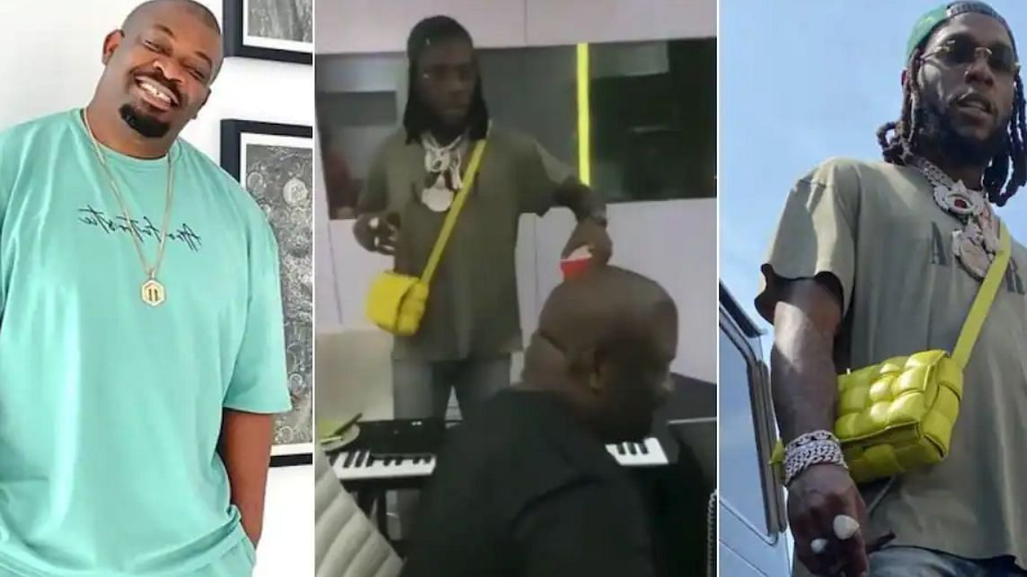 VIDEO: Burna Boy collaborates with Don Jazzy in new single 'Question'