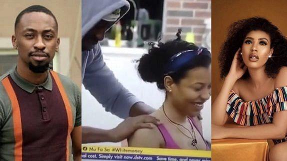 [VIDEO]BBNaija: I knew I was in trouble 10 mins after I sighted you, Saga tells Nini