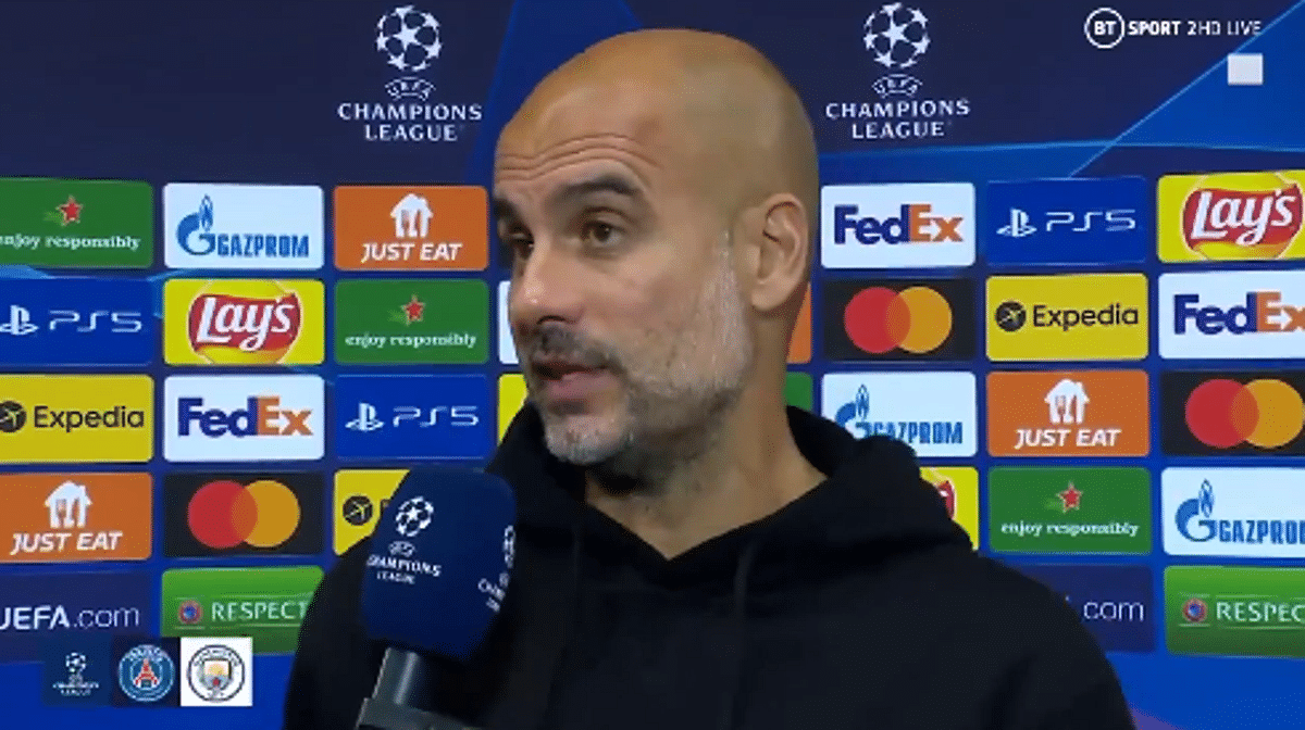 UCL: Why Man City lost to PSG, Guardiola reveals