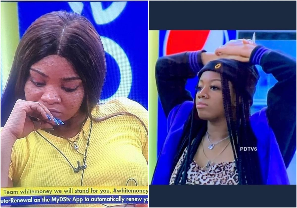 VIDEO: Queen, WhiteMoney react as Angel exposes her private part on camera