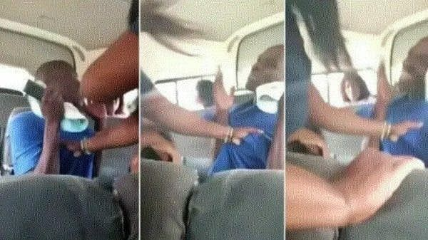 Women beat man for trying to woo underage girl inside bus