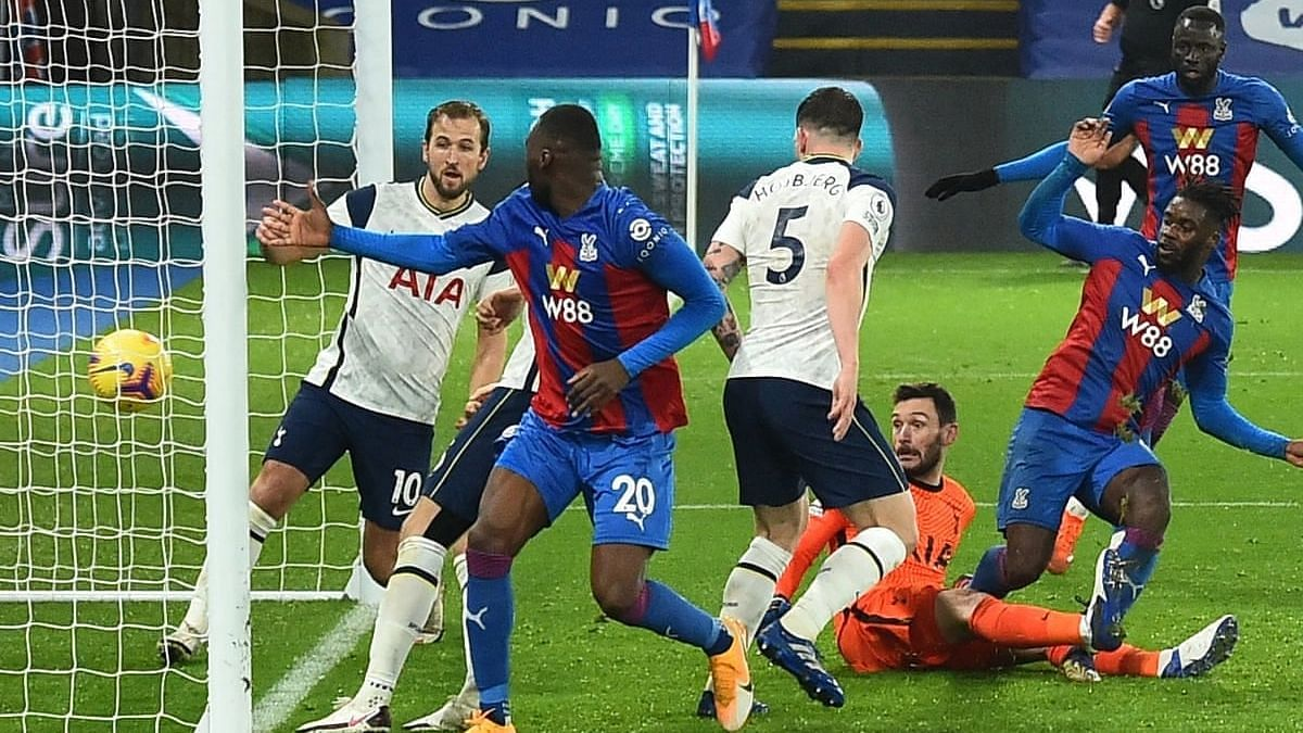 EPL: Crystal Palace end Tottenham's perfect run with 3-0 win