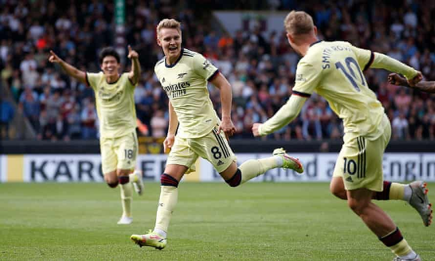EPL: Odegaard scores Arsenal's second goal of the season