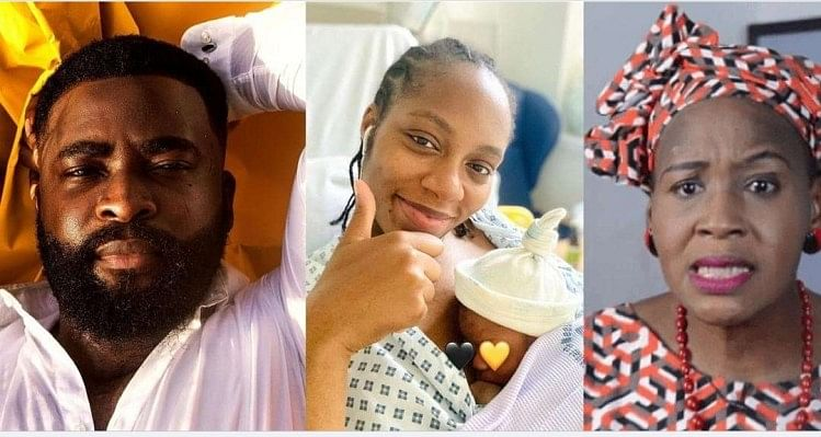 My son can never be your grandson, BBNaija's Gedoni cautions Kemi Olunloyo