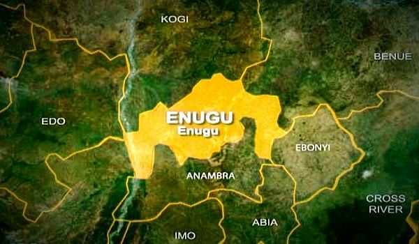 Sit-At-Home: Hoodlums set truck on fire in Enugu