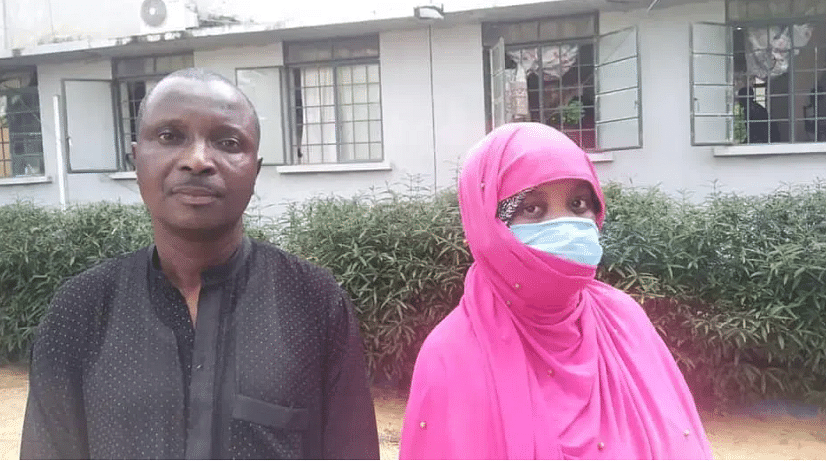 Police parade couple who threw party to welcome arrival of baby stolen from Kano hospital