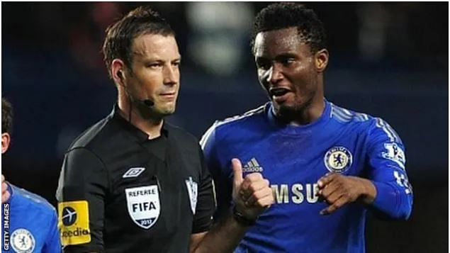 Mikel Obi's racial allegation disgusted me, it was damaging, Referee Mark Clattenburg writes in autobiography