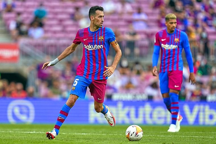 """Champions League: 'Ambitious' Barcelona begin """"new era"""" without Messi - Busquets"""