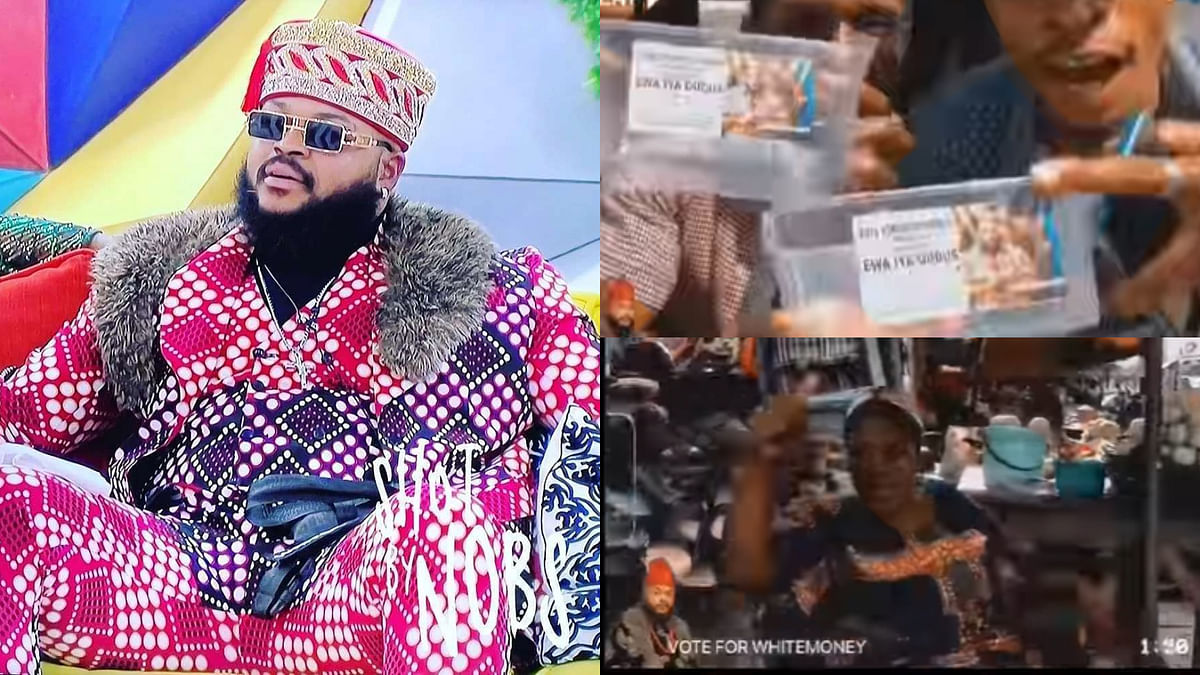 [VIDEO] BBNaija: Fans hit the streets, rally support for Whitemoney