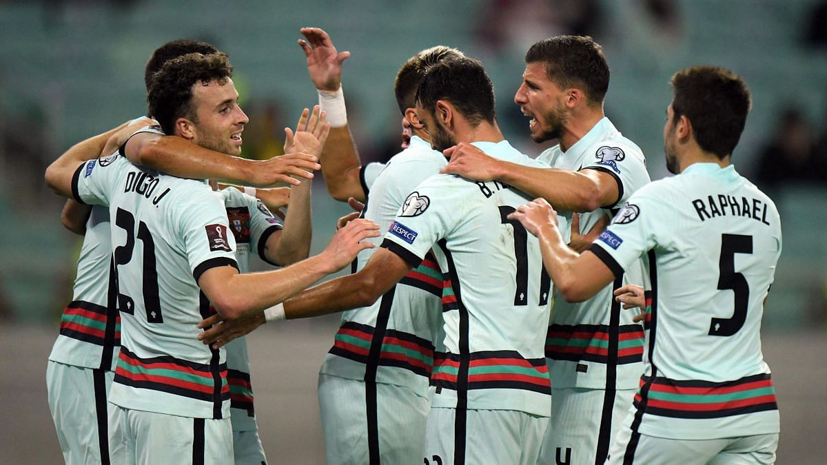 Portugal cruise past Azerbaijan in World Cup qualifier
