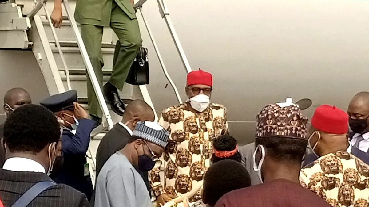 Buhari lands in Imo to inaugurate projects - Uzodinma