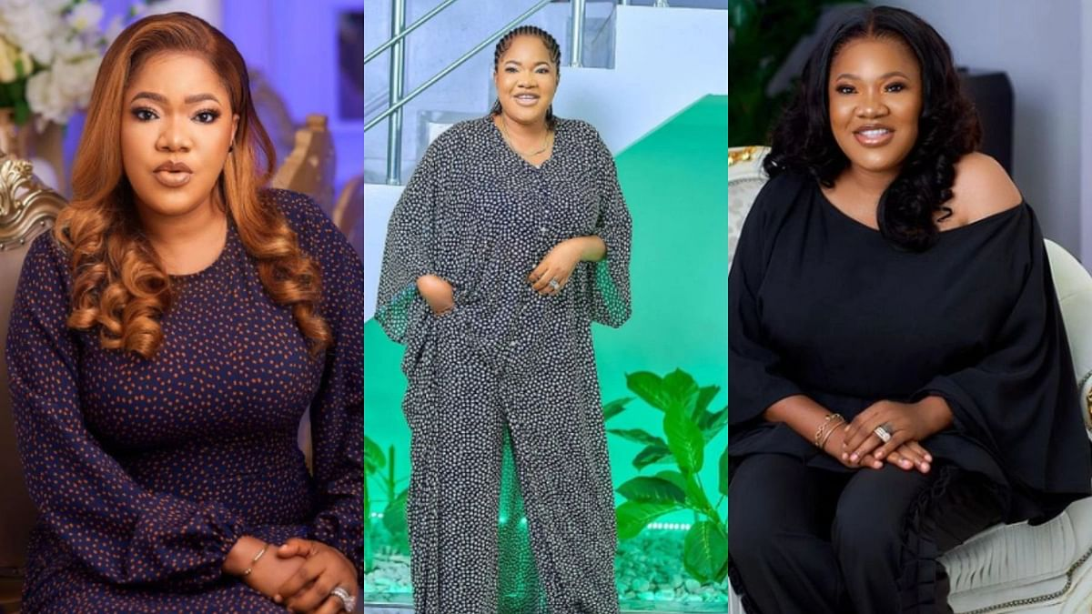 VIDEO: 'Oniduro' singer surprises Toyin Abraham with special birthday appearance
