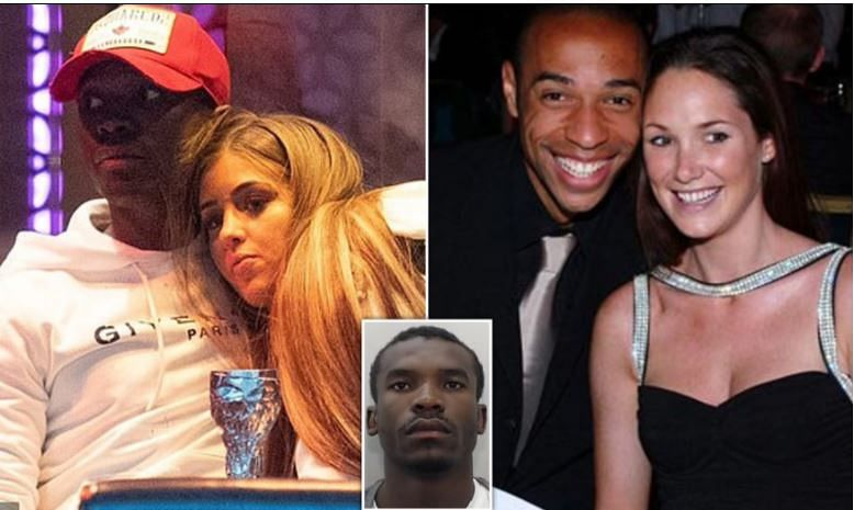 Thierry Henry ex-wife Claire defrauded of £160,000 by 'fake' US Navy Seal