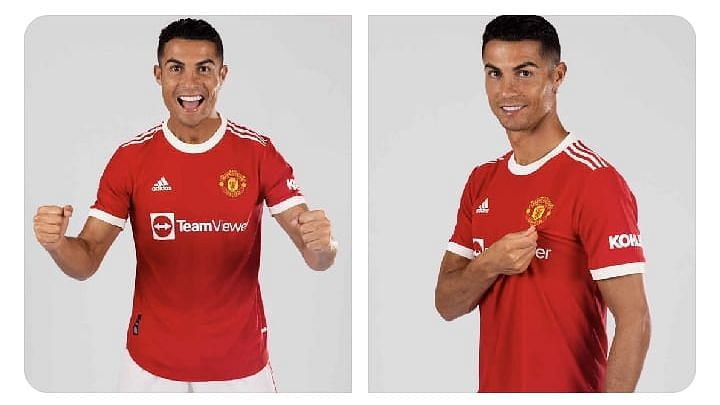 Ronaldo signs two-year United deal with option for third