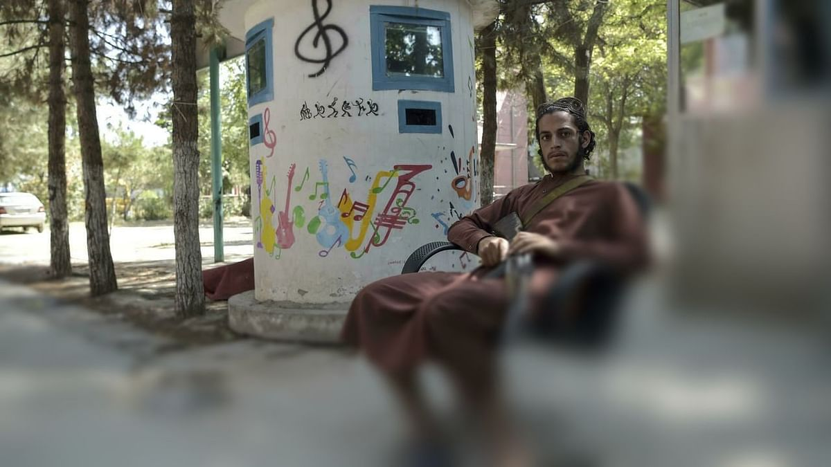 Afghan musicians mourn abandoned instruments after Taliban takeover